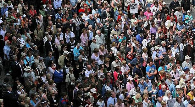 The United Nations Population Fund predicts the world's population will reach 7bn by the end of the month
