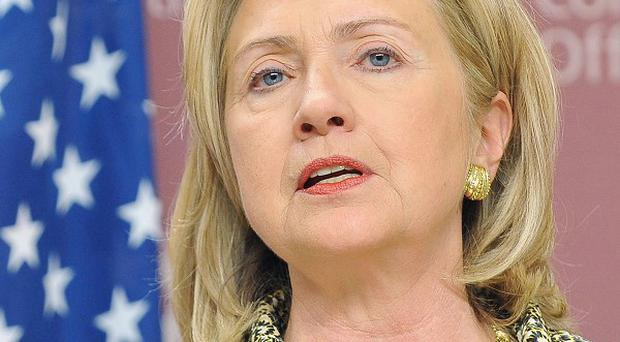 Hillary Clinton made the announcement that Belfast had been chosen as Dow's supply chain expertise centre