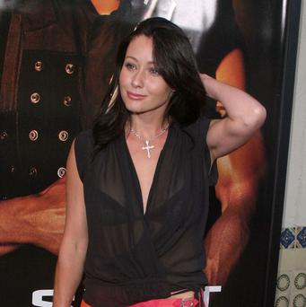 Actress Shannen Doherty has married for a third time