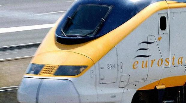 Eurostar passengers faced delays as police launched an investigation into the death of a man