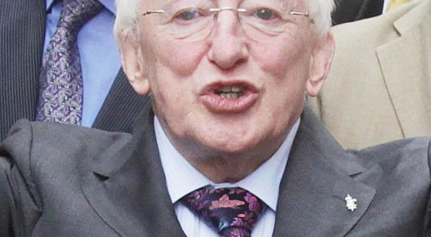 Presidential candidate Michael D Higgins has said opinion polls are volatile
