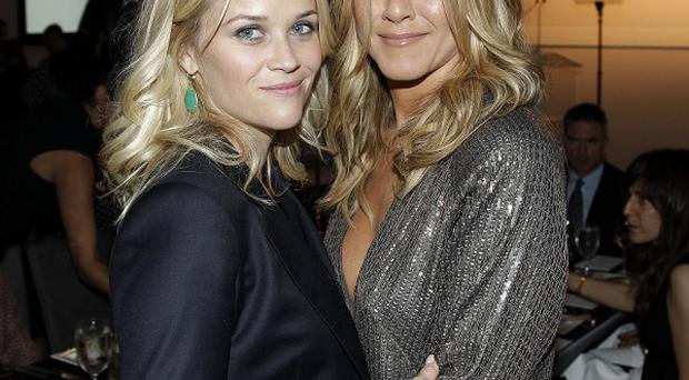 Jennifer Aniston and Reese Witherspoon were among the stars at the Elle event