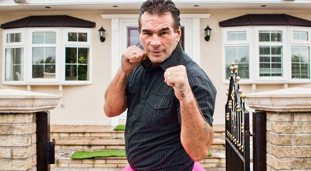 Paddy Doherty is supporting Breast Cancer Awareness Month