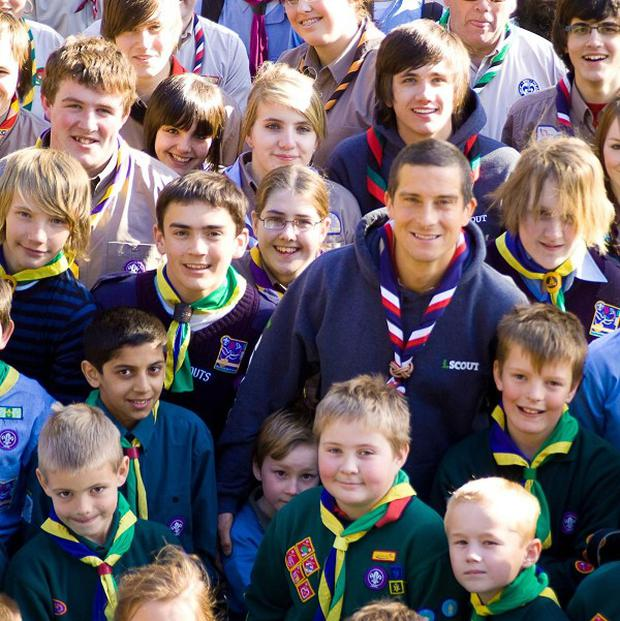 Chief Scout Bear Grylls is backing youngsters as Bob-a-Job week returns