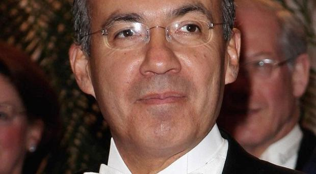 Mexican President Felipe Calderon has deployed troops and federal police to Veracruz