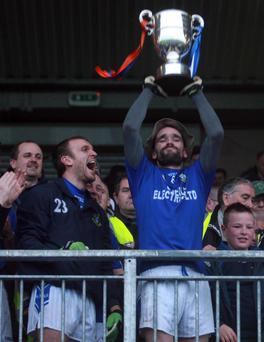 Ryan McMenamin will shore up Dromore's defence
