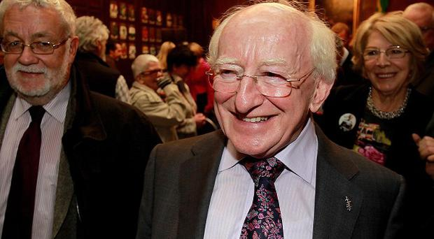 A shock opinion poll revealed Labour's Michael D Higgins had slipped into second place