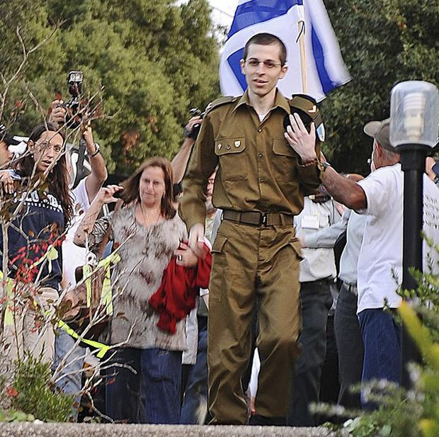 Israeli soldier Gilad Shalit was freed after five years in captivity (AP)