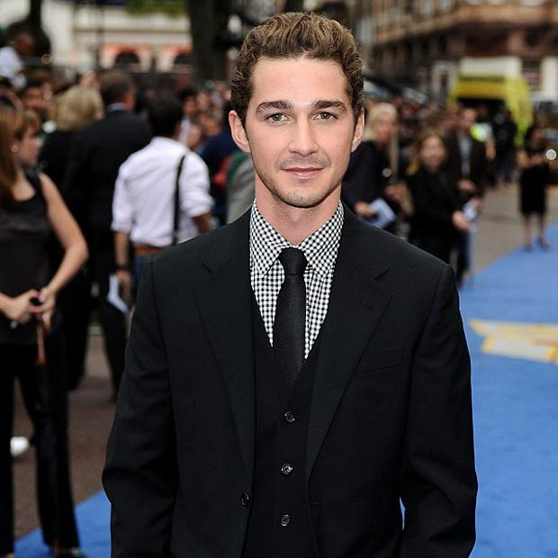 Shia LaBeouf is being linked to A Giant
