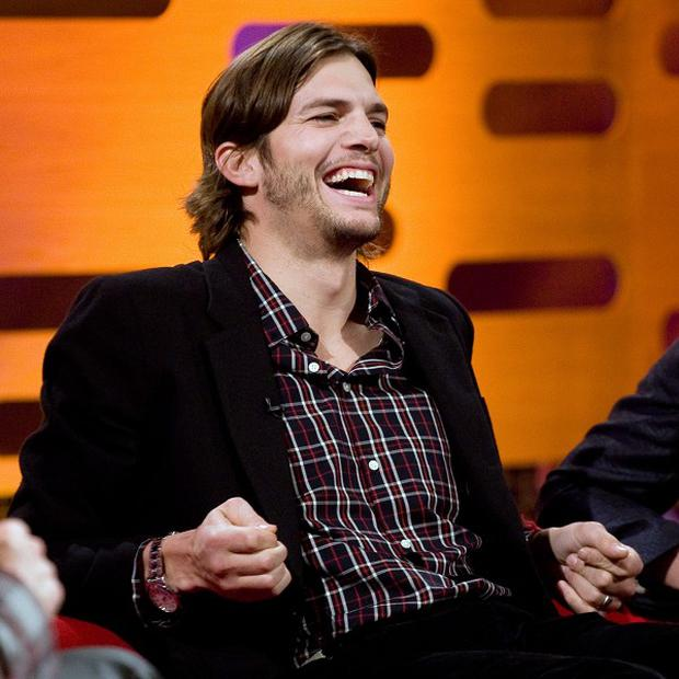Ashton Kutcher says Two And A Half Men has found its 'groove'