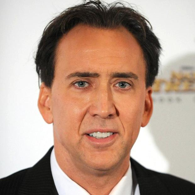 Nicolas Cage is set to star in Black Butterfly