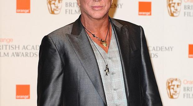 Mickey Rourke appeared in the first Expendables film