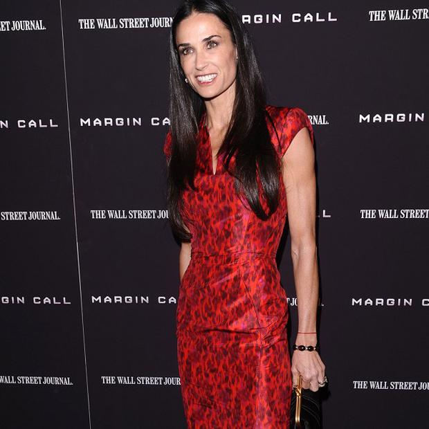 Demi Moore stars in the new thriller Margin Call