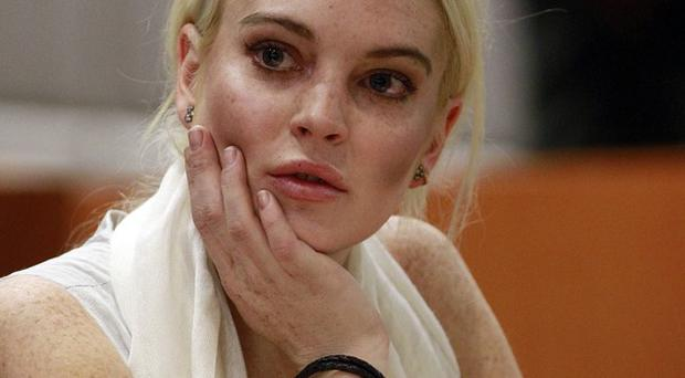 Lindsay Lohan was put back into custody for violating her probation but was bailed straight away