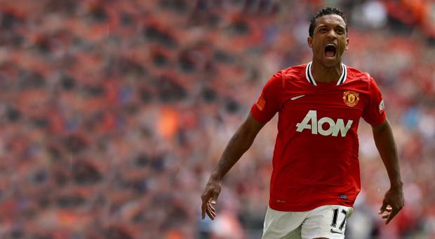 Nani is gunning for Manchester City