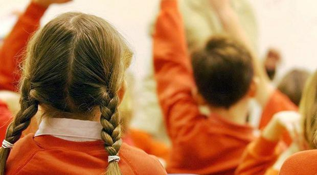 Almost one in five boys struggle to write their own name aged five, compared to one in 10 girls, statistics show
