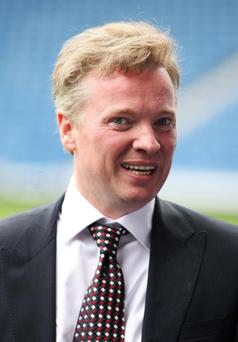 File photo dated 07/05/11 of Rangers owner Craig Whyte who insists he is doing everything in his power to prevent the club from going into administration. PRESS ASSOCIATION Photo. Issue date: Thursday October 20, 2011. The Scottish champions are involved in two separate disputes with HM Revenue and Customs relating to payments made before Whyte took over Sir David Murray's shareholding in May. The larger of those cases could leave Rangers facing an estimated tax bill of £49 million. Whyte has always maintained he is confident of winning the case, but did address the issue of administration in an interview with STV. See PA story SCOTLAND Rangers. Photo credit should read: Lynne Cameron/PA Wire