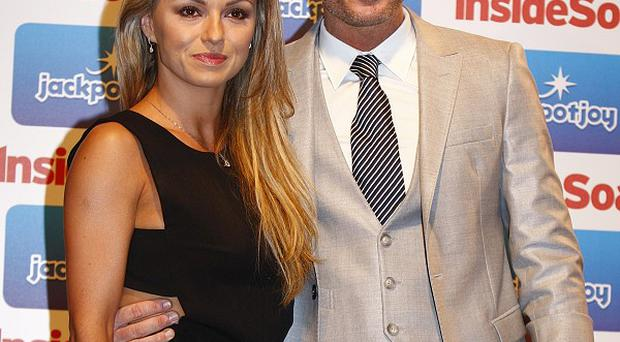 Robbie Savage said his professional partner Ola Jordan was more nervous than him when they danced on a football pitch