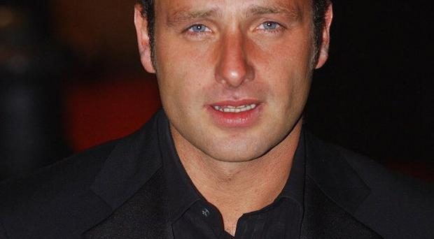 Andrew Lincoln is keen to perfect his US accent