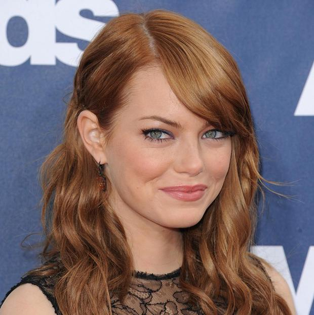 Emma Stone was told she got the role just before it broke online