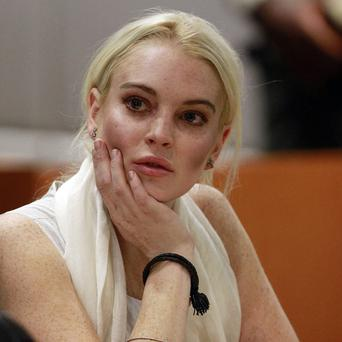 Lindsay Lohan was late for her first day at the morgue