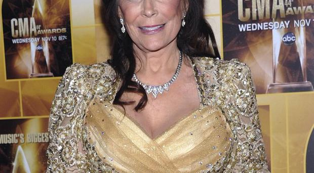 Singer Loretta Lynn was scheduled to perform in Kentucky but was taken to hospital with pneumonia (AP)