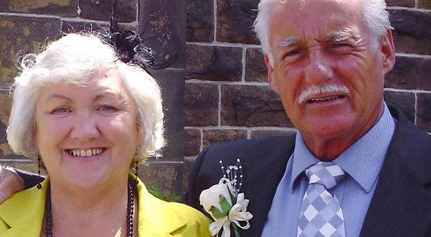 Mary and Kenny Hall, from Bootle, Merseyside, were swept to their deaths while near Benidorm when torrential rain led a river to burst its banks