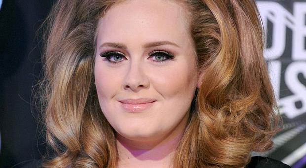 Adele is up for 'best female artist' at the Q Awards