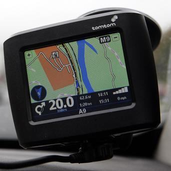 Satnav maker TomTom reported third-quarter profits up by almost 10 per cent