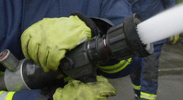 A 45-year-old man has died in a house fire in Co Galway