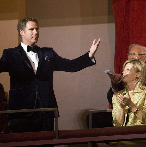 Will Ferrel has been awarded a top American humour prize