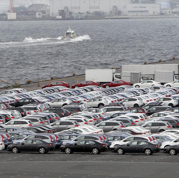 Japan's exports rose almost two and a half percent in September compared with a year earlier (AP)