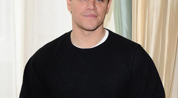 Matt Damon reckons we should keep fears about germs in perspective