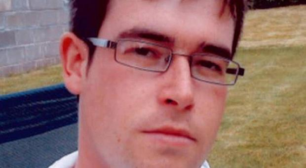 The burned body of Stuart Walker was discovered at Caponacre industrial estate in Cumnock