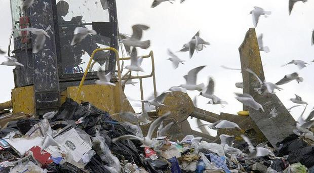 Landfill sites are being increasingly restricted