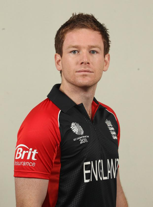 Eoin Morgan sits top with an average of 47.41