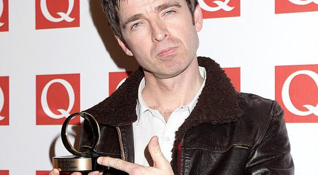 Noel Gallagher won the Icon award at the Q Awards