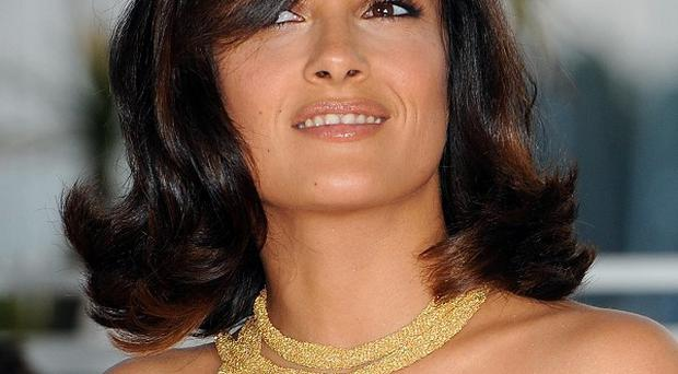 Salma Hayek worked alongside Antonio Banderas in the new film