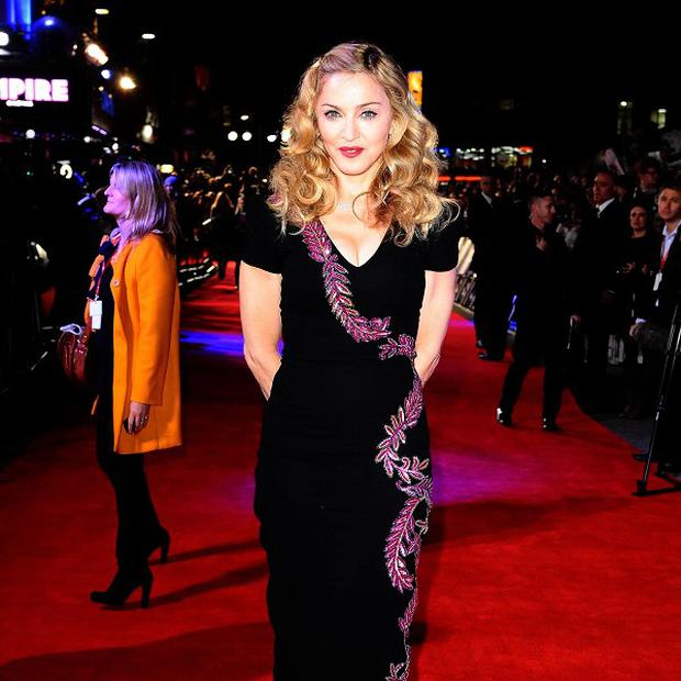 Madonna said in a statement that she felt distressed by the defendant's actions