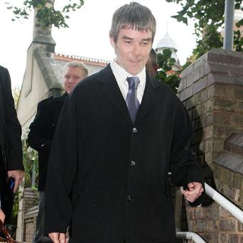 Ian Brown had been clocked driving at 105mph