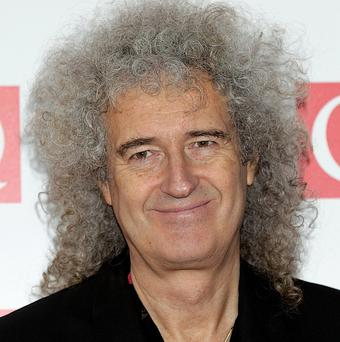 Brian May is amazed at how much Anita Dobson is enjoying the show