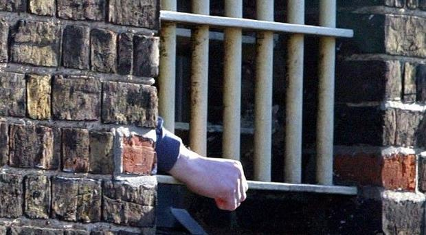 Figures show the number of young men jailed for the first time rose sharply last year