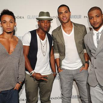 JLS will be handing over some awards at the Children's Baftas