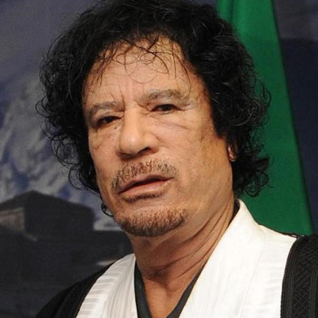 Muammar Gaddafi's intelligence chief has entered Niger, the country said