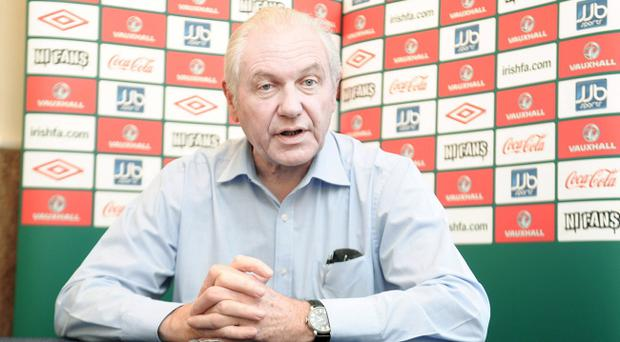 IFA President Jim Shaw has vowed to appoint a manager who will 'resurrect our international team'.