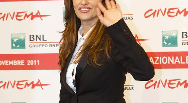 Penelope Cruz has appeared at the Rome film festival