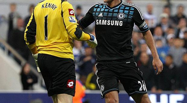 Paddy Kenny (left) and John Terry