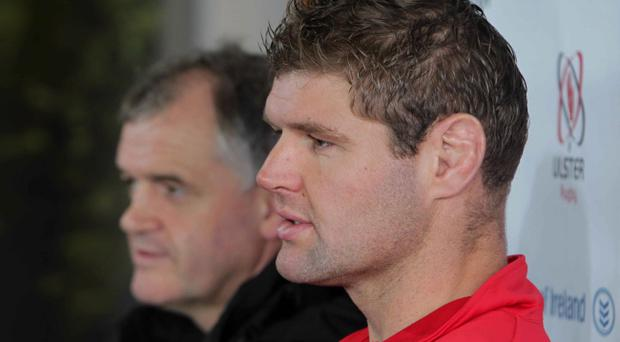 Skipper Johann Muller can't wait to return to the fray as Ulster prepares for vital games in the Pro12 and Heineken League