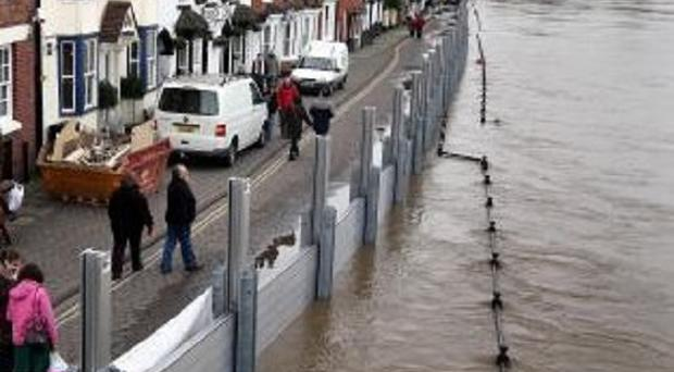 The Environment Agency has estimated it needed an annual increase of 20 million pounds to maintain flood defences