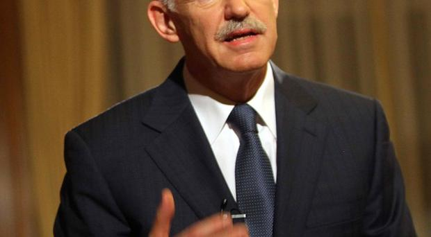 Greek Prime Minister George Papandreou welcomed the terms of the EU bailout deal (AP)